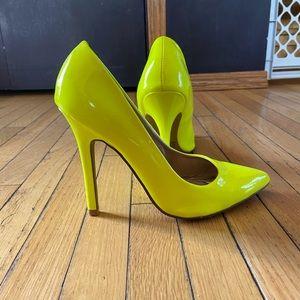 Qupid Neon Heels 👠
